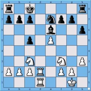 Anand played 16. Ne1 ?!