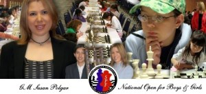 "Susan and I are confident that the 2015 Susan Polgar ""National Open Championship for Girls and Boys will a great tournament and, for many, the chess experience of a lifetime! "" – Chris Torres"
