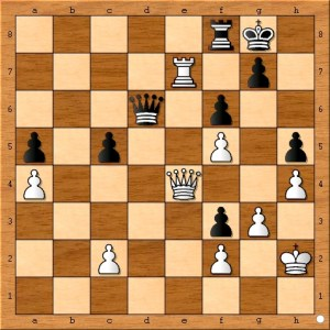 Position after Anand plays 34. h5???