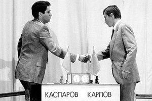 Kasparov vs. Karpov 1986
