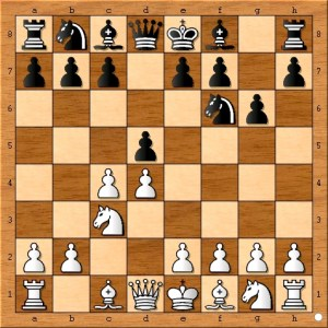 Magnus Carlsen attempted to surprise Viswanathan Anand by chosing the Grunfeld Defense.