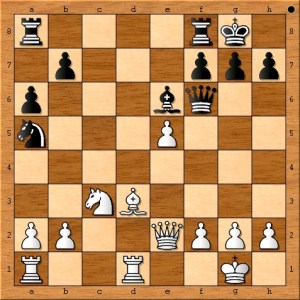 Susan Polgar unlocks the b1-h7 diagonal for her bishop while attacking her opponent's queen and gaining space.