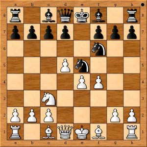 Position after 7. f4