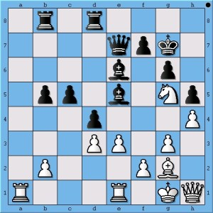 On move 28, Magnus Carlsen creates complexities to throw Viswanathan Anand off.