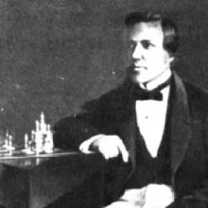 Paul Morphy in 1858