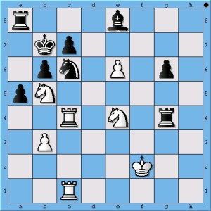 Anand's sneaky threat throws Carlsen off.