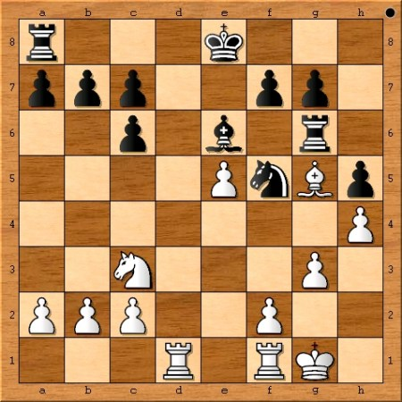 Position after Magnus Carlsen plays 16. h4.
