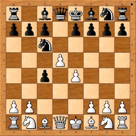 Position after 4. d5.