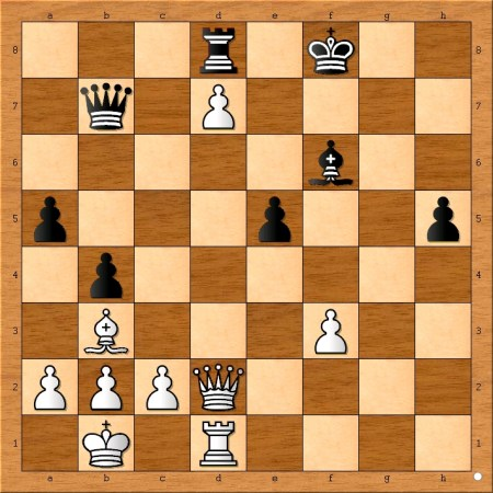 What is Bobby Fischer's (white's) best continuation?