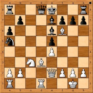 Susan Polgar sets up a neat combination here. Do you see it?