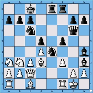 What is the best way for white to stop Anand's attack?