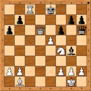 ( 27.e6 Rd8 28.Rc8 Qxh2+ 29.Kxh2 Rxc8 30.Qd7+ Kf8 31.Qf7#) Completes the difficult mate in 6.