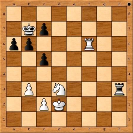 Position after Magnus Carlsen plays 55. Kd2.