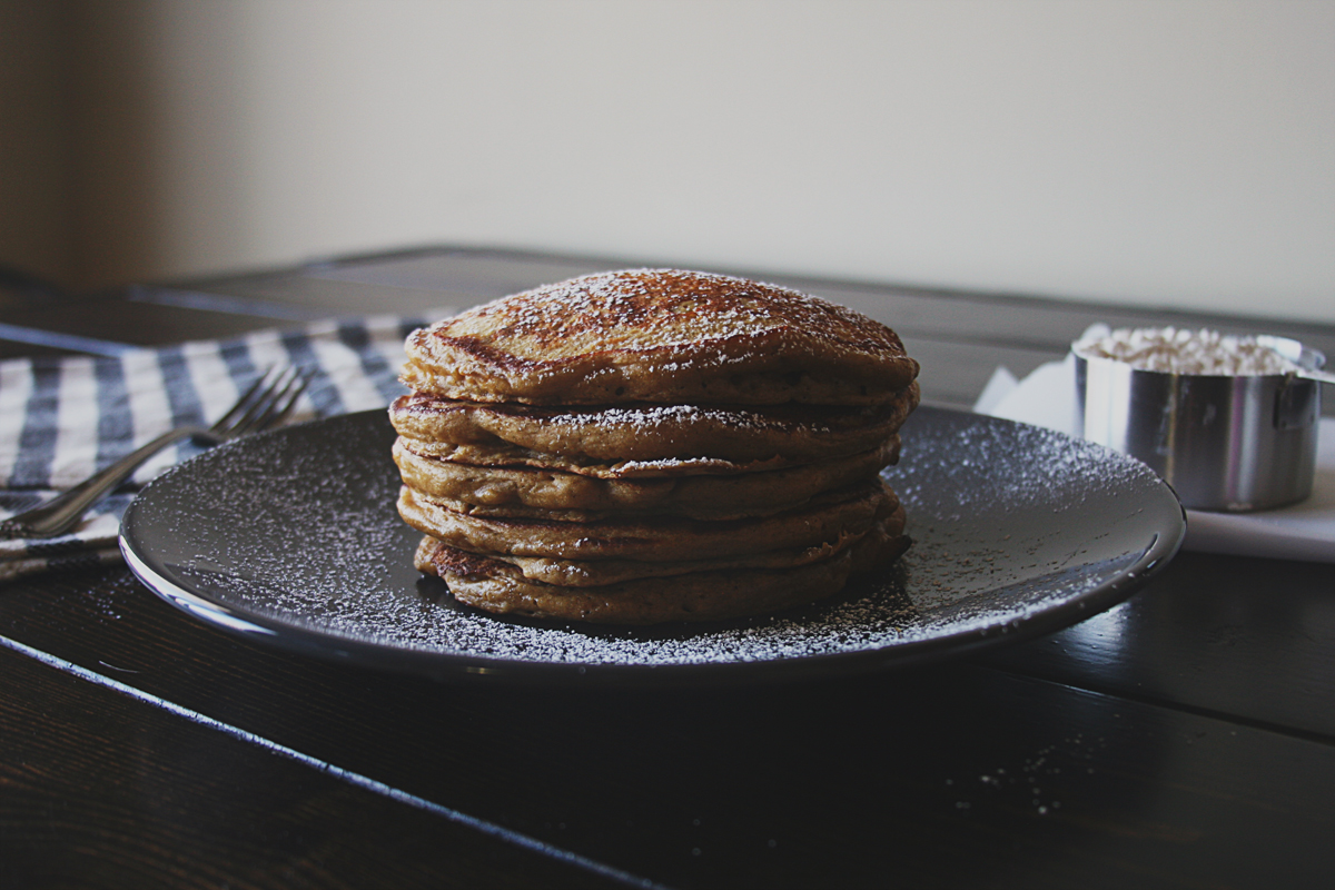 Blackstrap Molasses Buttermilk Pancakes