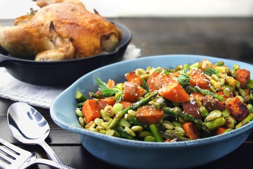 chicken-asparagus-lima-bean-sweet-potatoe-hash-2
