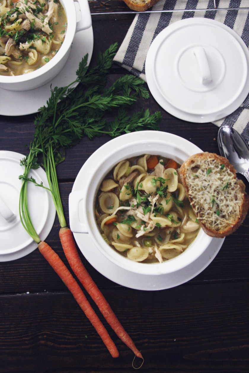 chicken-noodle-soup-parmesan-toast-2
