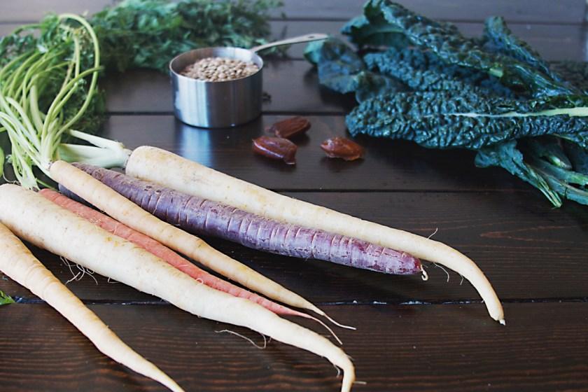 lentil-kale-rainbow-carrot-salad-9