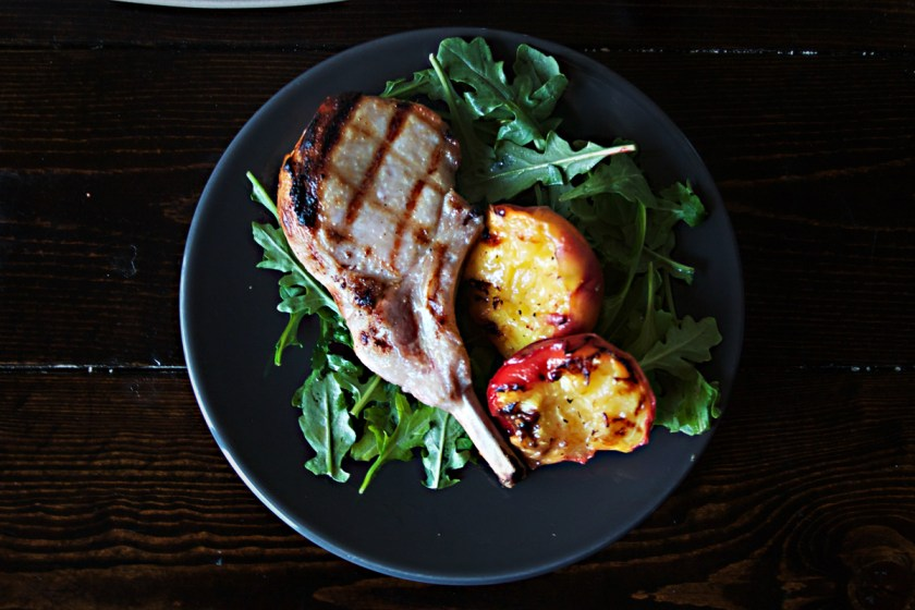 brined-pork-chop-grilled-peaches-2