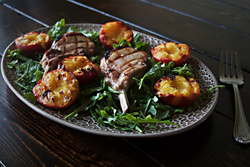 brined-pork-chop-grilled-peaches-3