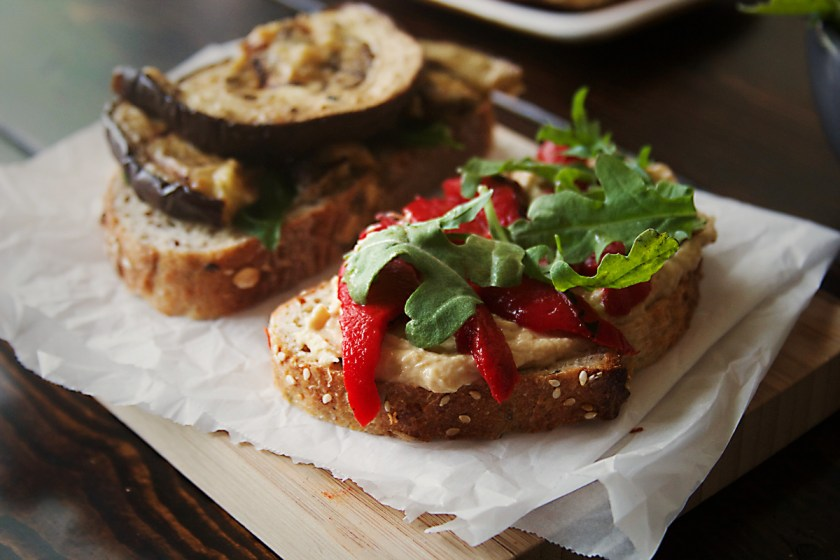 grilled-eggplant-sandwich-hummus-roasted-red-pepper-2