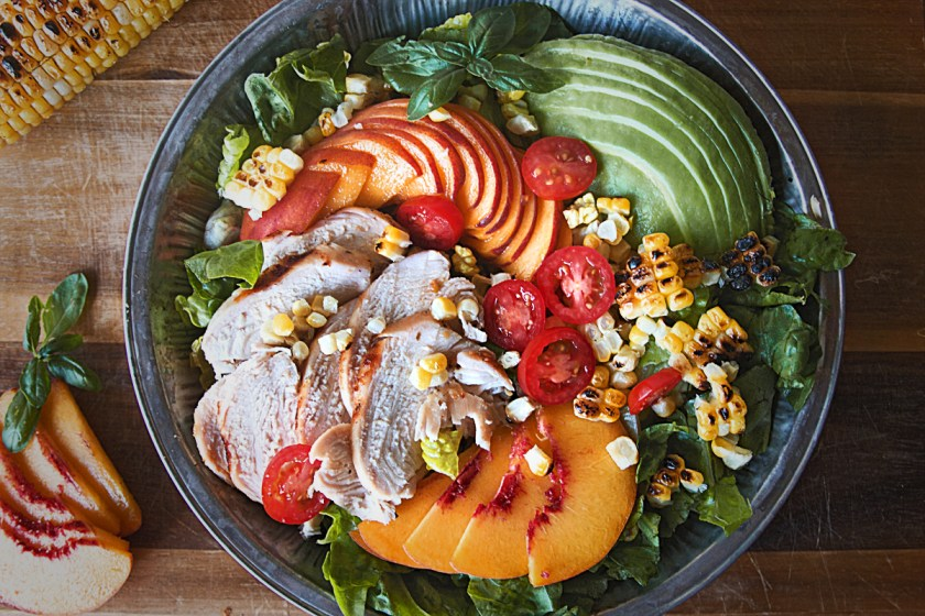 grilled-chicken-and-peach-salad-3