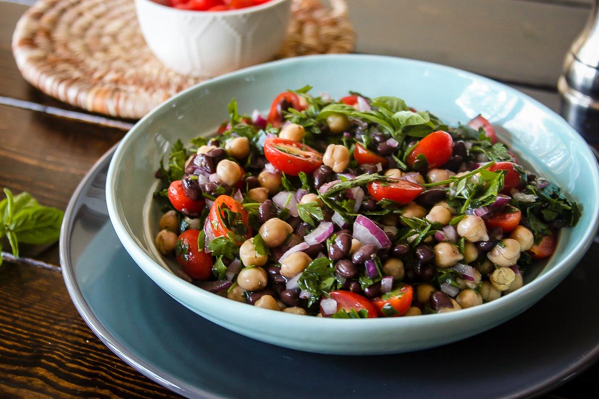 Mediterranean Balela Salad