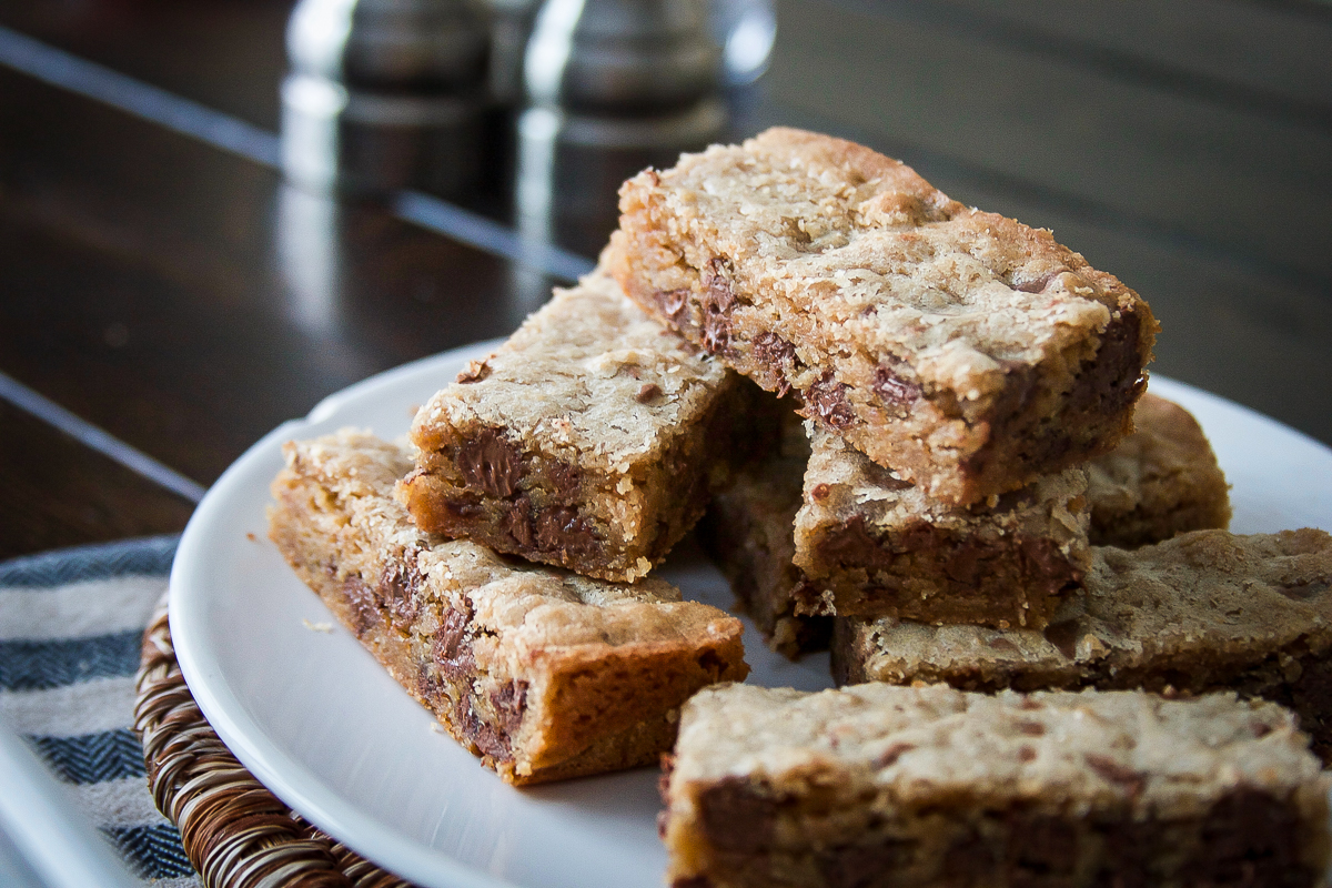 Easy Milk Chocolate Blondies