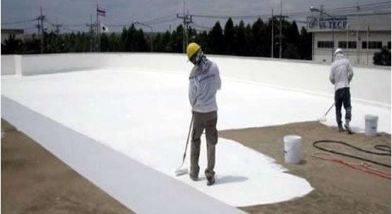 WATERPROOFING TREATMENT FOR THE ROOFS OF MULTI-STOREYED BUILDINGS