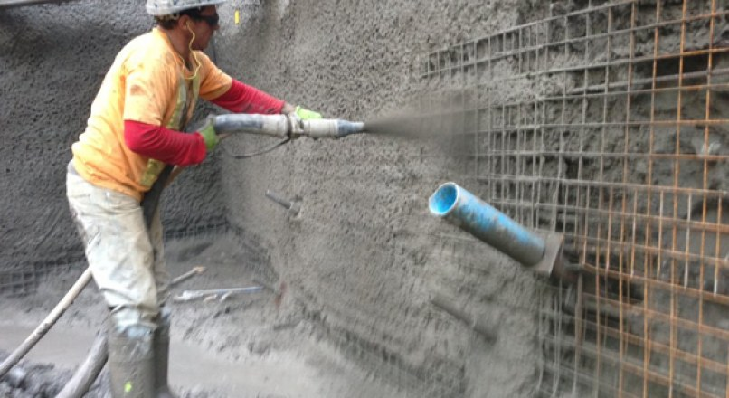 WHAT IS SHOTCRETE (SPRAYCRETE)