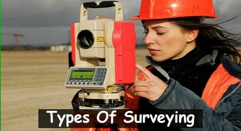 Types Of Surveying (Classification Of Surveying)