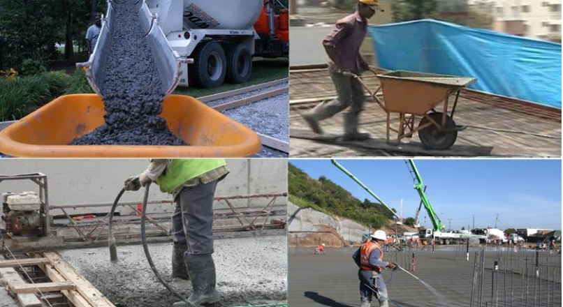 Steps Involved In Concreting Process