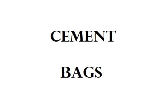 Calculate Cement Bags In 1 Cubic Meter