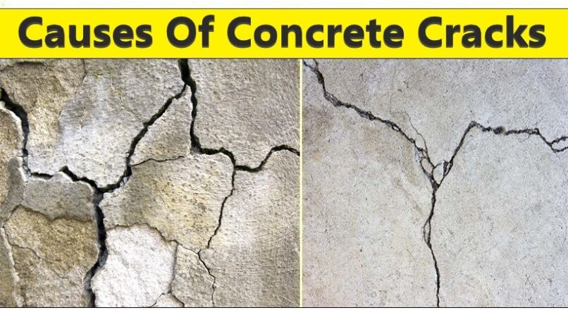 8 Causes Of Cracks In Concrete You Should Know