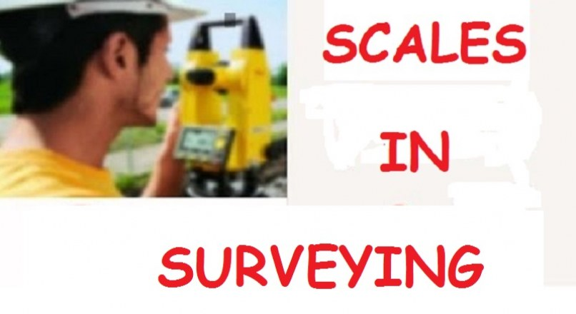 Types Of Scales In Surveying