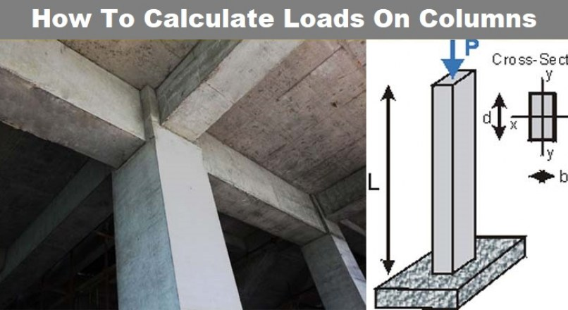 How To Calculate Loads On Column, Beam, And Slab