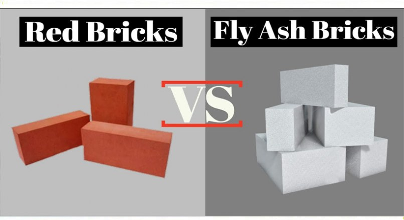 Difference Between Fly Ash Bricks And Clay Bricks