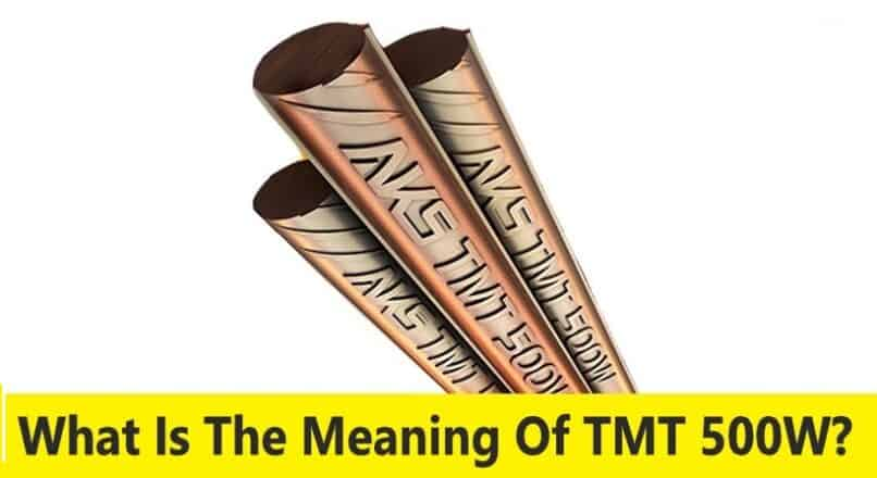 What Is The Meaning Of TMT 500W?