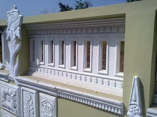 Perforated Parapet Walls