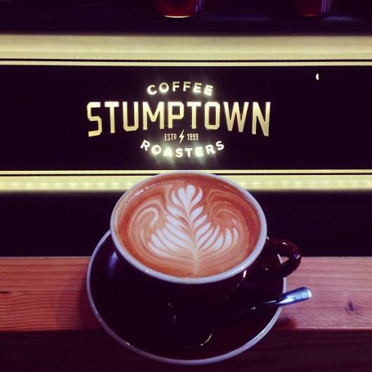 stumptown custom espresso machine