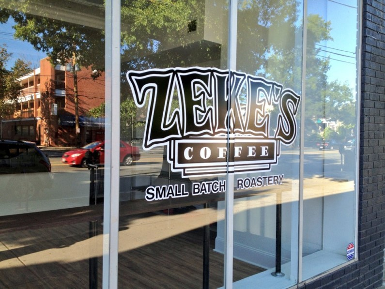 Zeke's coffee in D.C.