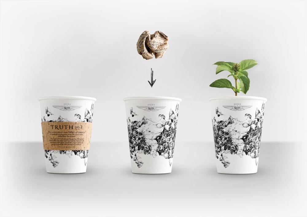 This AwardWinning Coffee Cup is Also a SelfContained Garden  Daily Coffee News by Roast