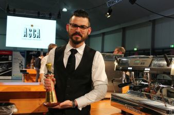 Craig Simon of Veneziano wins his second Australia Barista Championship.