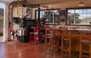 The roastery and tasting lab