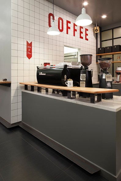Modern Coffee in Uptown Oakland. Photo courtesy of Arcsine Architecture.