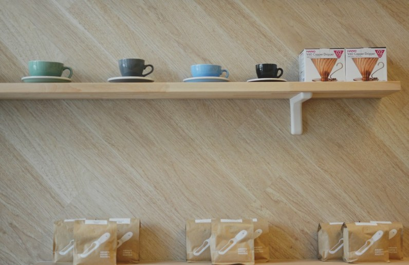 Andante Coffee at South Park Lofts. Photo by Amparo Rios.