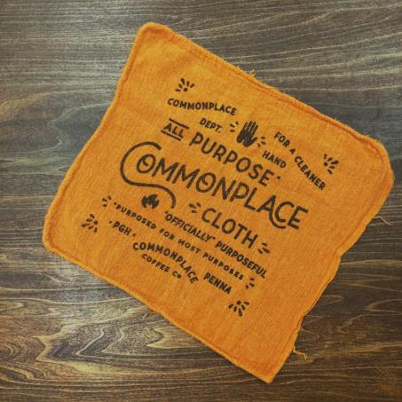 The Commonplace Coffee All-Purpose Cloth. Facebook photo.