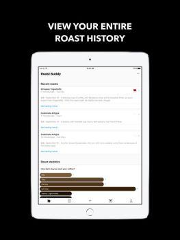 Roast Buddy iPhone screenshot