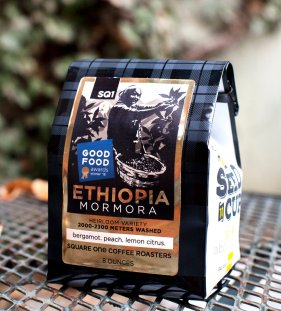 Square One Coffee's Good Food Award-winning Ethiopia Shakiso Mormora