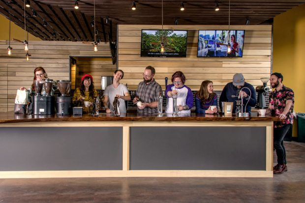 portland roasting coffee cafe shop se