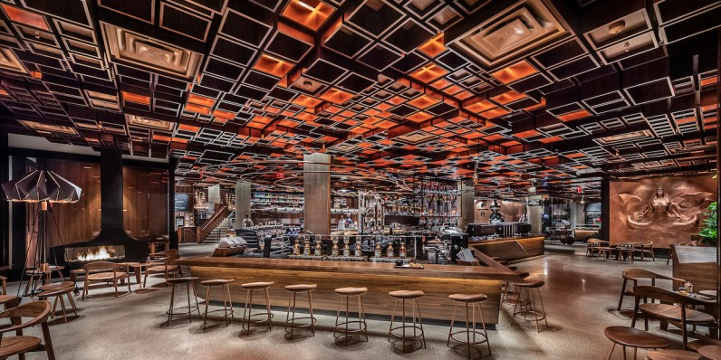 Starbucks Reserve Roastery New York